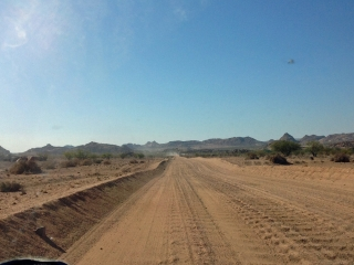 D road Namibia